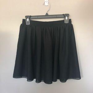 American Apparel Skater Chiffon skirt